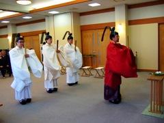 写真:平成23年神社庁例祭並びに神宮大麻暦頒布始祭の様子 その1